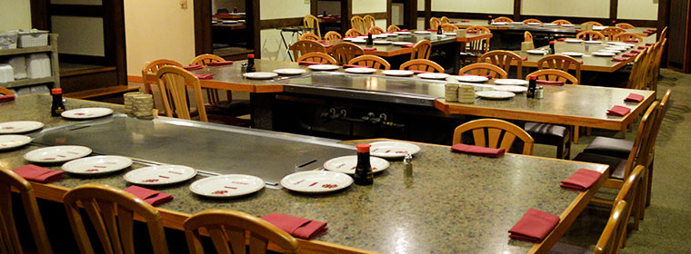 Hibachi tables, Liverpool NY